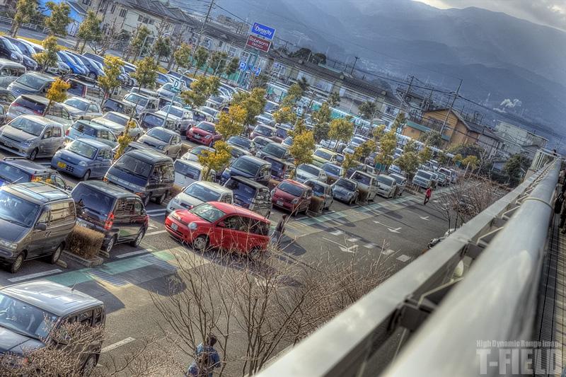 ダイナシティ駐車場