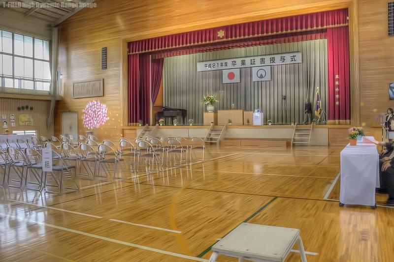 小さな学校の卒業式