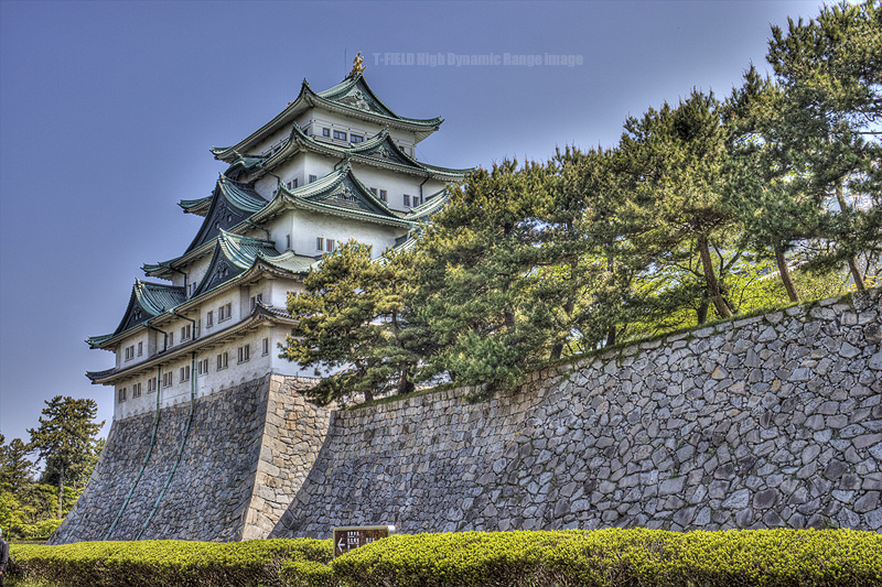 本文と関係ない名古屋城HDR