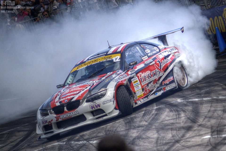 D1GP CENTRAIR 単走チャンピオン 上野高広選手(BMW)