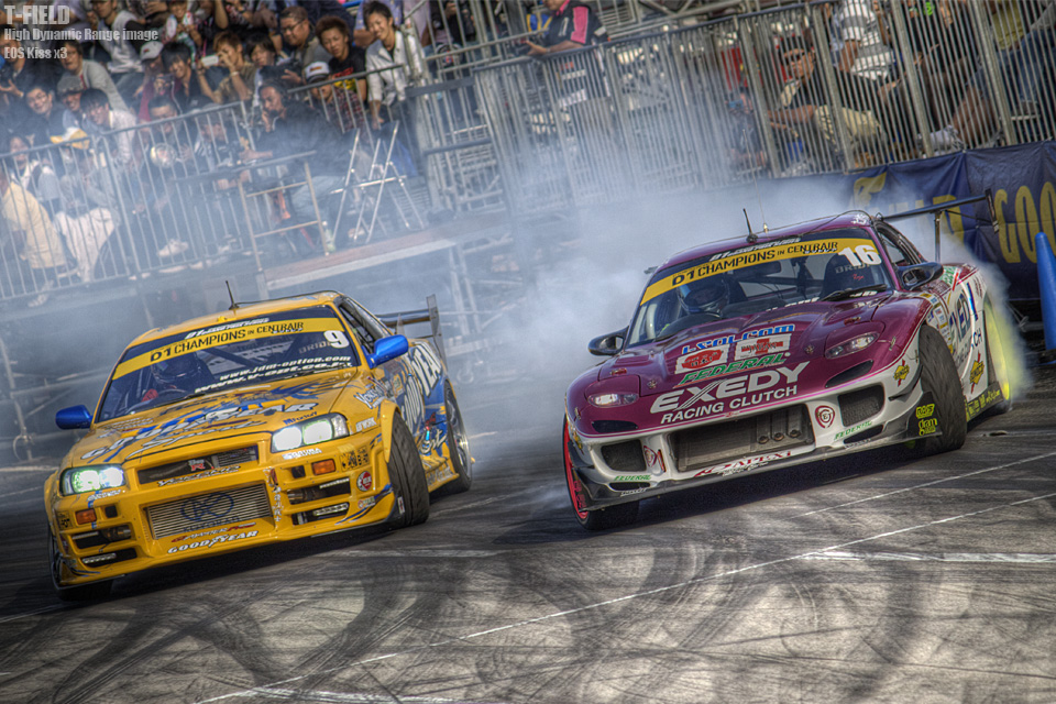 D1GP CENTRAIR 追走 手塚