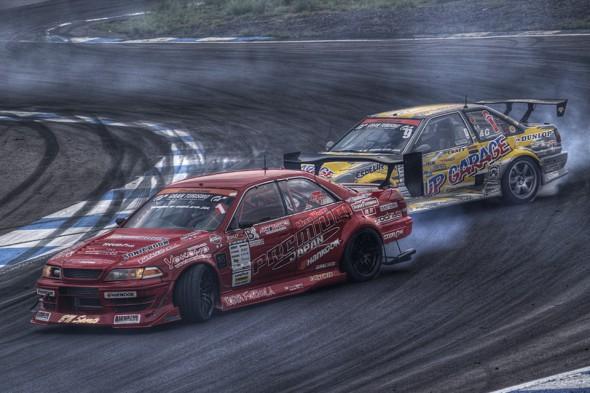 D1GP 2011 エビス 追走 太悟 vs 日比野
