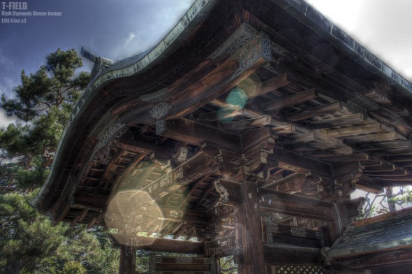 上杉神社 門