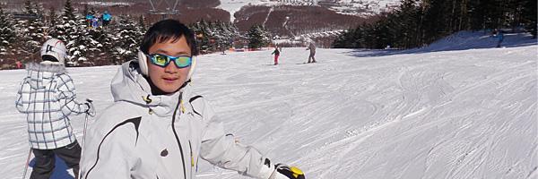 スキーヤーのパラダイス?