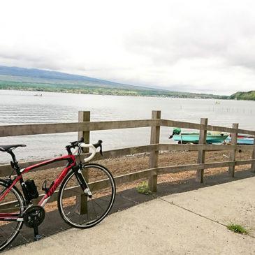 ロードバイクで初ライド!山中湖1周からの河口湖往復