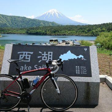 富士西側三湖|ロードバイク