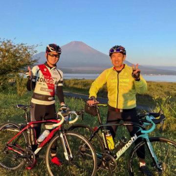 富士山ロングライド ロードバイク